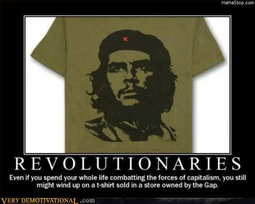 che irony revolution Sad sadness T.Shirt - 2888978176