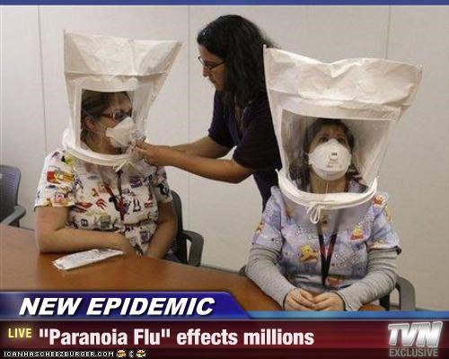 epidemic paranoia sickness swine flu