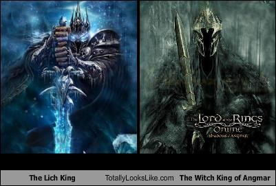 The Lich King Totally Looks Like The Witch King Of Angmar