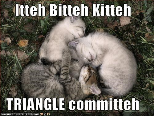 Itteh Bitteh Kitteh  TRIANGLE committeh