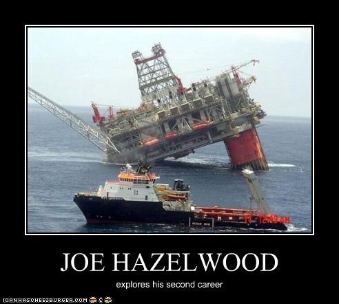 JOE HAZELWOOD explores his second career