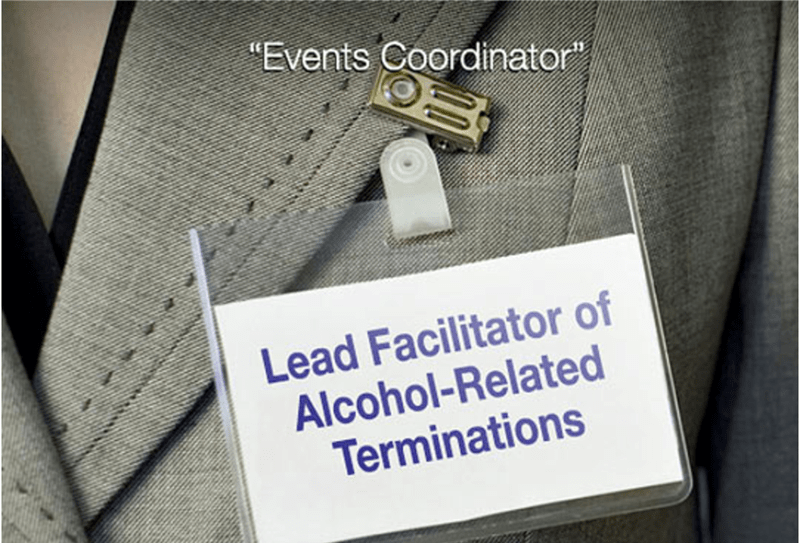 a funny name tag of what an event coordinator actually does and its nothing - cover photo for a list of funny job titles and what they really mean