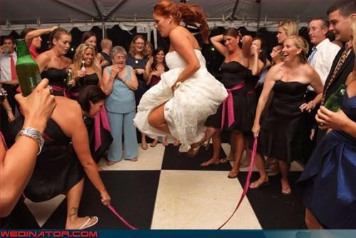 Crazy Brides,grandma,jump rope,new heights,surprise,Wedding Themes