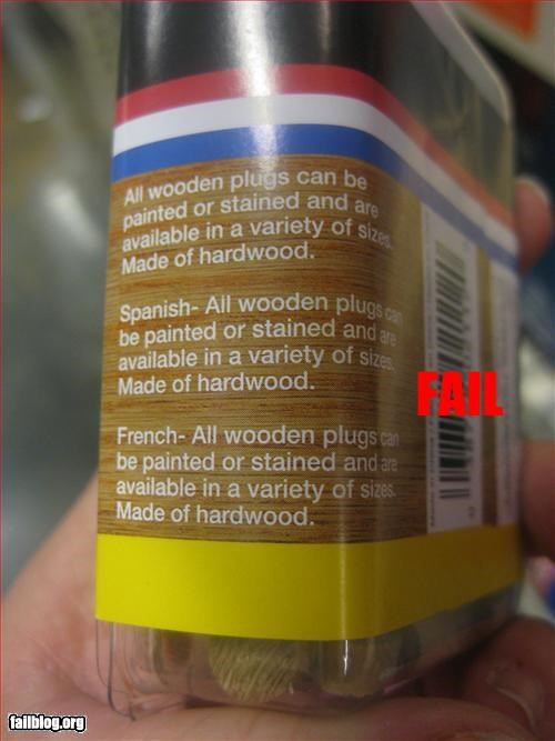 english french g rated packaging spanish translation