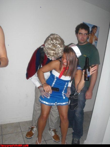 costume party creepy Good Times - 2907359488