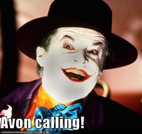 avon batman jack nicholson makeup the joker - 2910270976