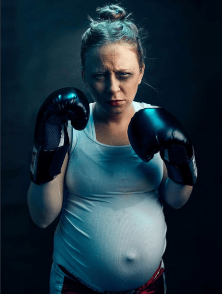 surprising Maternity photo series