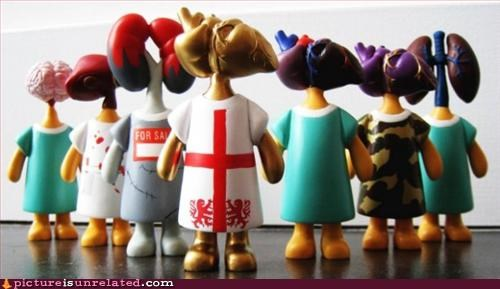 figurines organs toys wtf - 2910859520