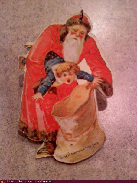 ornament,santa,wtf