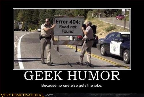 cops geeks nerds Pure Awesome road signs - 2912504576