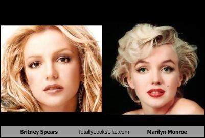 Resultado de imagem para britney and Marilyn Monroe