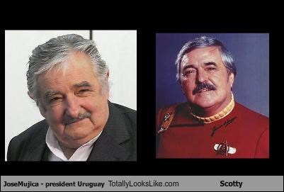 JoseMujica - president Uruguay Totally Looks Like Scotty