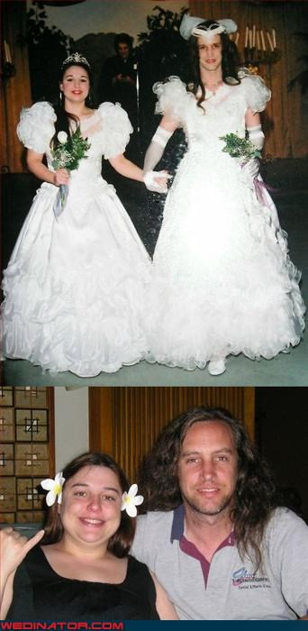 Crazy Brides,crossdressing,fashion is my passion,groom,Multiple Brides,poofy sleeves,surprise,were-in-love
