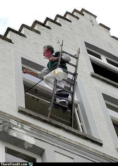balance,ladder,painter,unsafe