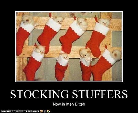 STOCKING STUFFERS Now in Itteh Bitteh