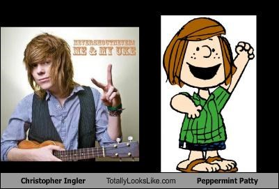 christopher ingels,comics,musician,peanuts,Peppermint Patty,ukulele