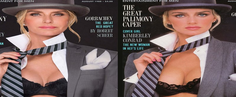 Playboy covers recreations