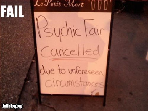 cancel,fair,g rated,irony,psychic,signs