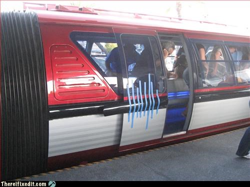 colored duct tape,future is now,monorail