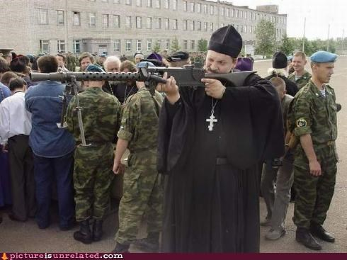 clergy,guns,wtf