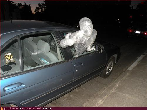 car invisible man see through wtf - 2929981952