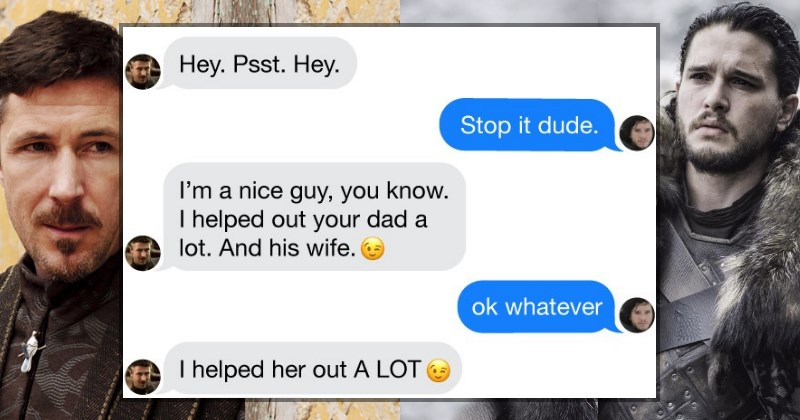 game of thrones text messages