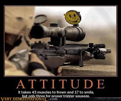 army guns happy hilarious smiley face - 2933357056