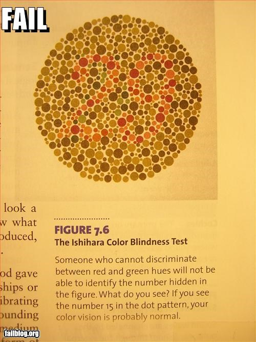 colorblind colors failboat g rated numbers psychology test textbooks