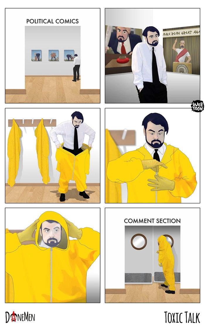 12 dark comics