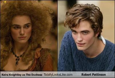 Keira Knightley As The Duchess Totally Looks Like Robert