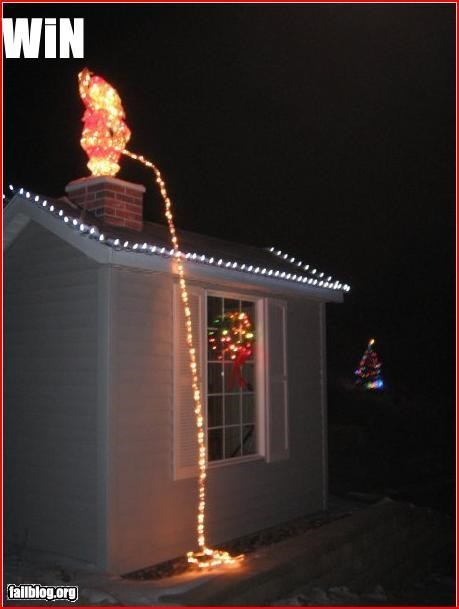 christmas g rated lights pee santa win - 2936200960