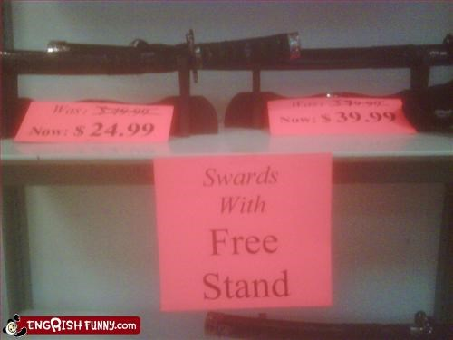 free g rated signs sword