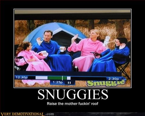 as seen on tv camping family hilarious raise the roof snuggie - 2937304832