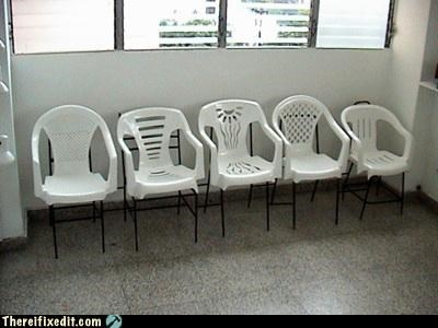 chair,extra seating,recycling-is-good-right,special snowflake