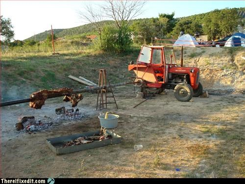 construction equipment cookout not intended use - 2943669760