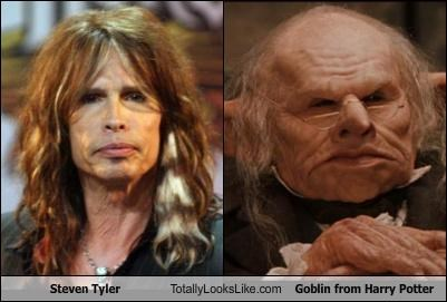 Aerosmith goblin Harry Potter movies singer steven tyler - 2944076800