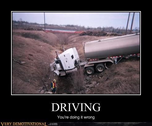 pit driving doing it wrong truck funny - 2944487936