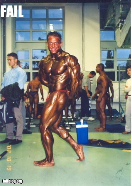 bodybuilding g rated scary tan wtf - 2944749056