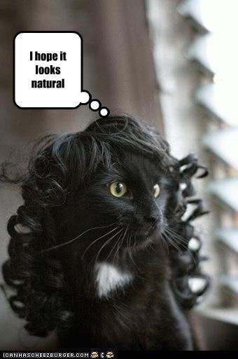 costume nervous wig - 2944884992