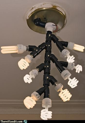 extra fire hazard lightbulb overkill
