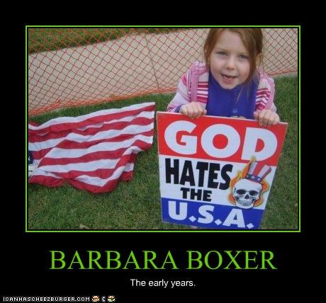 BARBARA BOXER The early years.