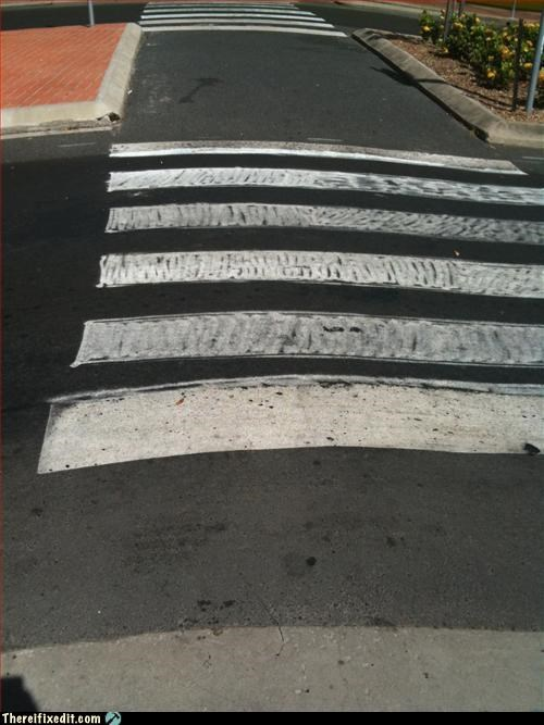 coloring,crosswalk,tax dollars at work
