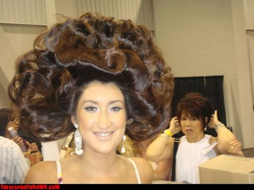 Awkward beauty pageant hair omg wtf - 2948551680
