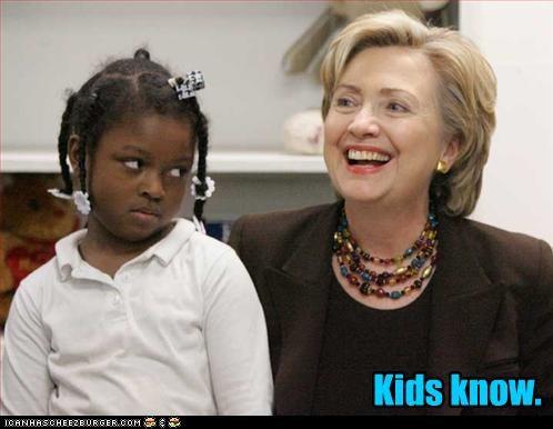 Kids know.