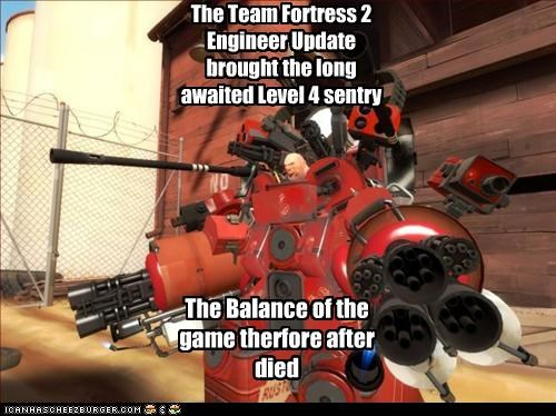 The Team Fortress 2 Engineer Update Brought The Long Awaited Level