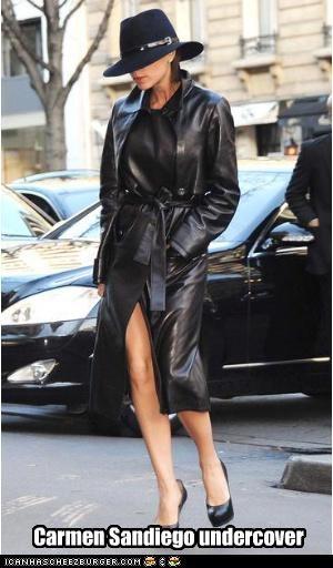 carmen sandiego,fashion,Victoria Beckham