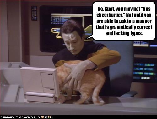 cheezburger movies Star Trek TV - 2953807616