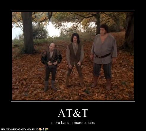andre the giant,att,cell phones,Mandy Patinkin,the princess bride,wallace shawn
