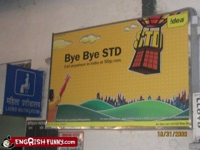 bye india signs STD - 2955738880