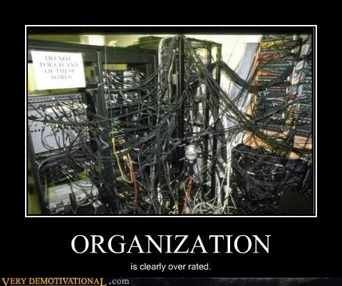 wires wtf organization bad idea